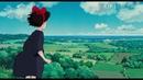 Hayao Miyazaki кадры из аниме и опенинг Linked Horizon из аниме Attack on Titan.