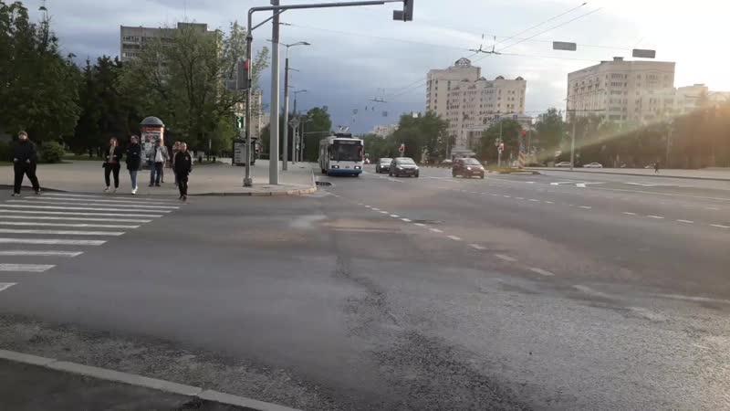 Троллейбусы 169 и 301 на Буревестнике