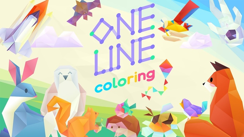 One Line Coloring Official Announcement Trailer