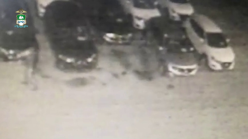 В Курганской области по горячим следам задержан подозреваемый в поджоге автосалона