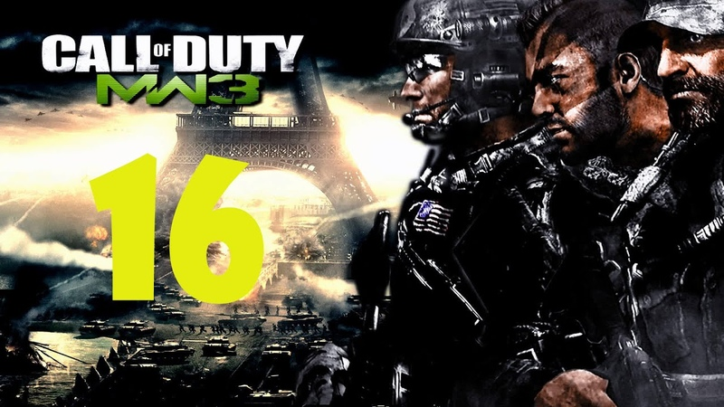 Call of Duty Modern Warfare 3 Прах к праху Прохождение Без Комментариев №16 Финал