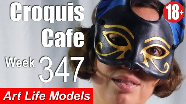 Croquis Cafe: Figure Drawing Resource No. 347 (200,000 YouTube Subscribers)
