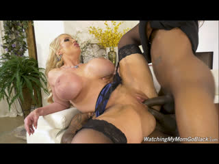 DogFart/WatchingMyMomGoBlack - Alura Jenson (Two Big Black Cock)