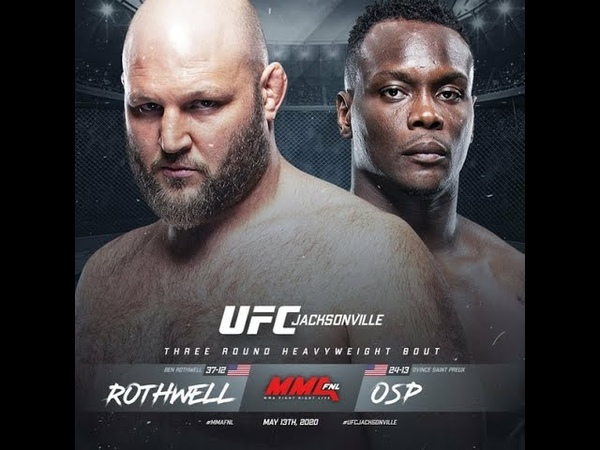 EA Sports UFC 3 Бен Ротвелл Овинс Сент Прю Ben Rothwell Ovince Saint Preux