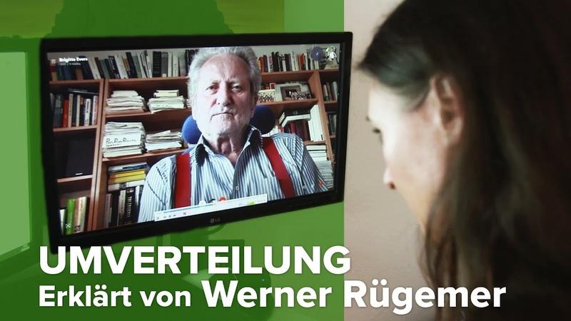 Corona Krise Gute Gelegenheit zur Umverteilung von unten nach oben Interview mit Werner Rügemer
