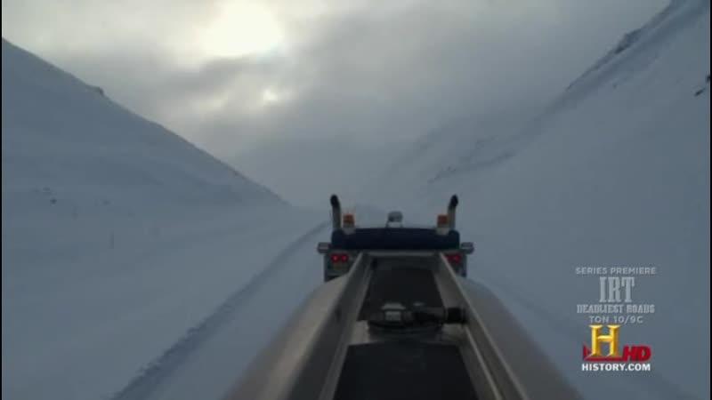 Ледовый путь дальнобойщиков 4 сезон 16 серия русский перевод Серж и Алекс