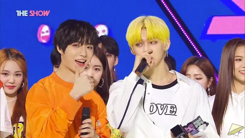 200526 TXT (투모로우바이투게더) win 1 with Can't You See Me? (세계가 불타버린 밤, 우린) on The Show Encore