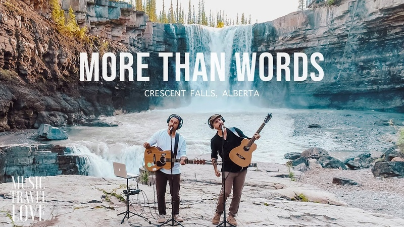 More Than Words Music Travel Love Crescent Falls Alberta Canada Extreme Cover