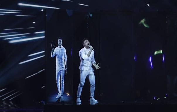 Сергей Лазарев попал в чарты iTunes 11 европейских стран.