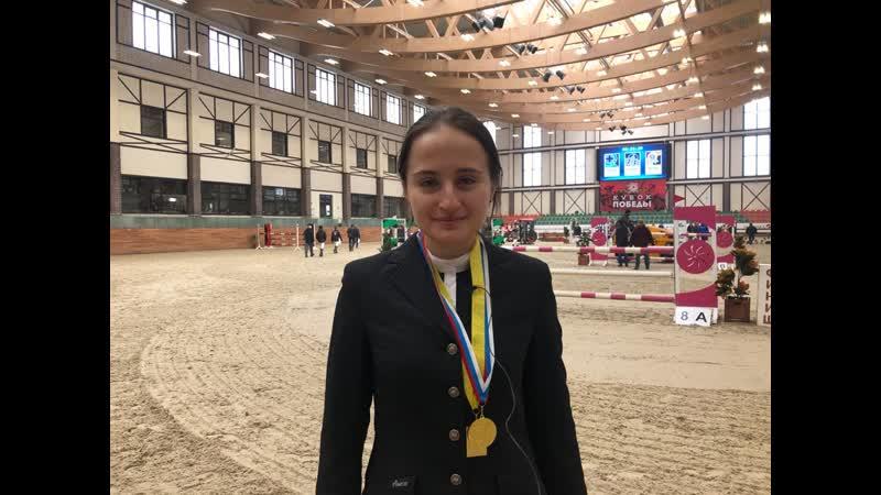 Кристина Горошко - победитель Бронзового тура 4 этапа MAXIMA MASTERS