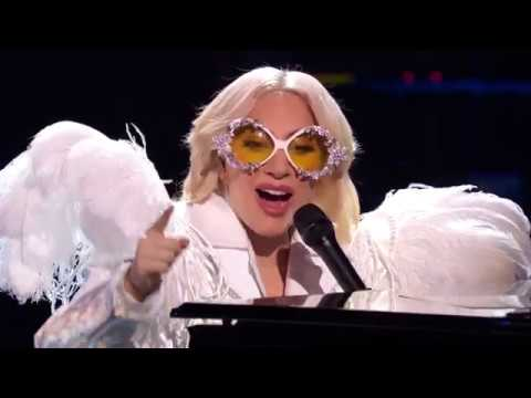 Lady Gaga - Your Song (Elton John GRAMMY Salute) (Rehearsal) (January 29th 2018)