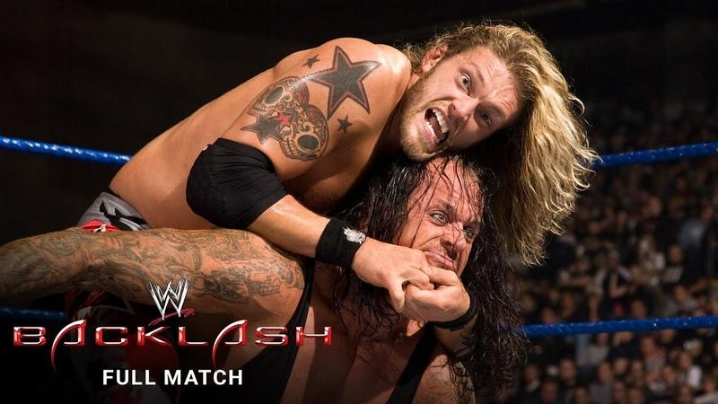 My1 The Undertaker vs Edge World Heavyweight Title Match WWE Backlash 2008