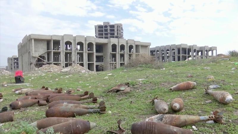 На окраине Алеппо обнаружили целый подземный город террористов