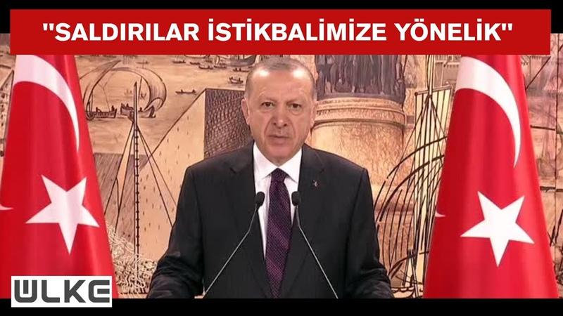 Erdoğan CHP'nin başındaki zat azgınca saldırıya geçmiş durumda