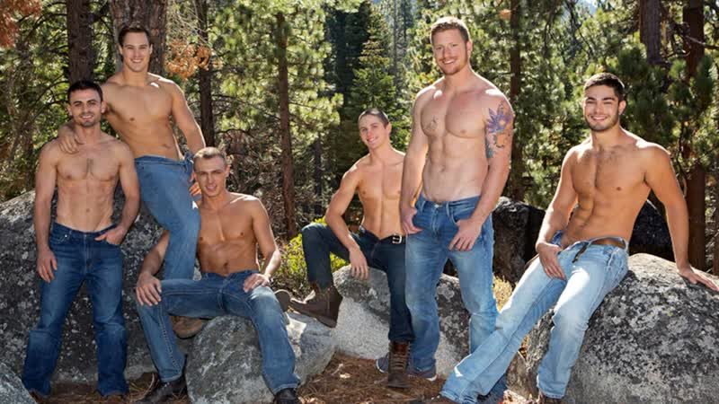 Sean Cody, Mountain Getaway: Day 4 POP UP, Tanner, Bryce, Coleman, David, Andy,