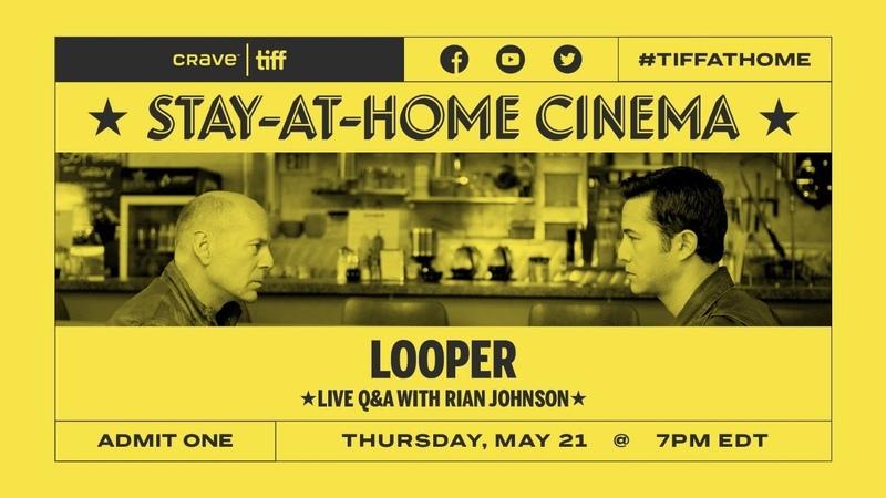 QA with Rian Johnson on LOOPER   Stay-at-Home Cinema   TIFF 2020