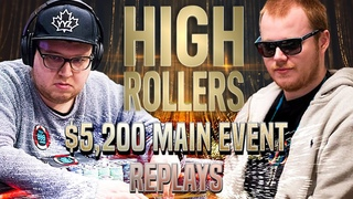 HIGH ROLLERS 2020 ME $5,200 tonkaaaa | 1_conor_b_1 | Lena900Final Table Poker Replays