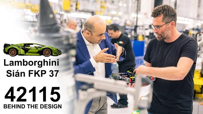 [PROMO 3] 42115 LEGO Technic Lamborghini Sián FKP 37 | THE LAMBORGHINI DESIGN DNA