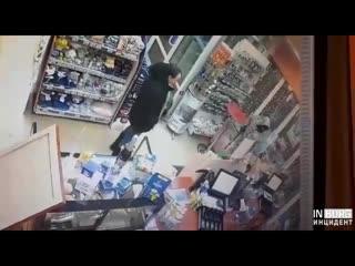 Ограбление заправки в Камышлове