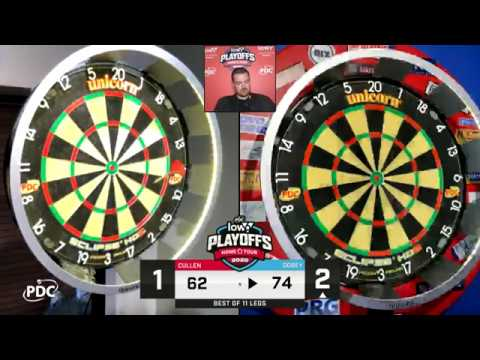 Dobey v Cullen Low6 Home Tour Play Offs Night 6