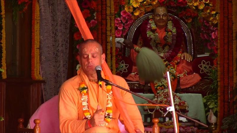 Srila Murali Krishna Swami's speech to Vyasa puja Sri Srimad Gour Govinda Swami Maharaj 2013 09 06
