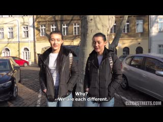 [CzechStreets] E124 Naive Twins - CZECH NewPorn2020