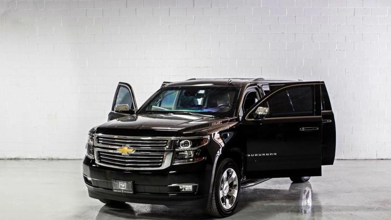 INKAS® Armored Chevrolet Suburban Black