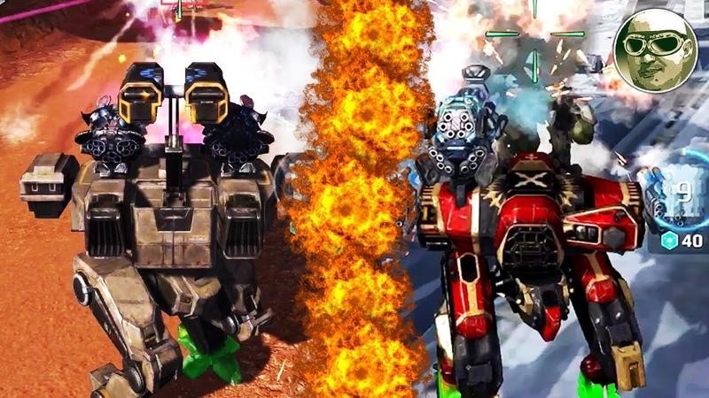 MIX ARES HADES NEMESIS! WAR ROBOTS 6 GODLIKE! MAX GAMEPLAY!