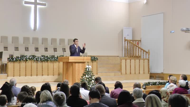 Иоанна 1 14-18. Воплощение Христа ¦ Андрей Вовк ¦ Слово Истины