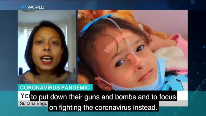 Nous nous félicitons du cessez le feu cémonavirus à l'échelle nationale qui vient d'être annoncé