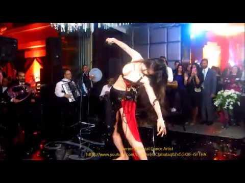 Dina ' s Magency choreography Cairo wedding الراقاصه دينا