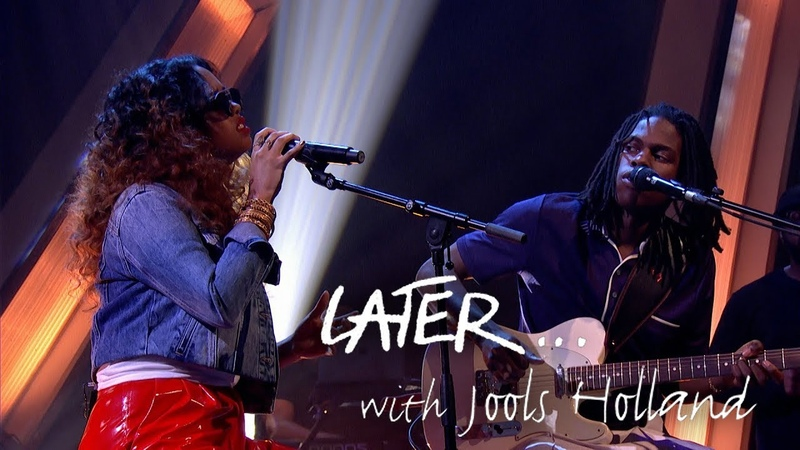 UK TV debut Daniel Caesar feat H E R perform Best Part on Later with Jools