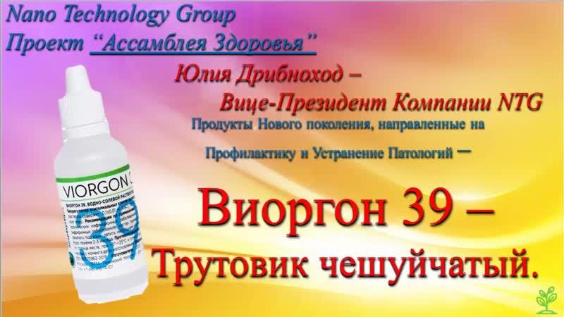 Продукция NTG - Виоргон 39 - Трутовик Чешуйчатый.