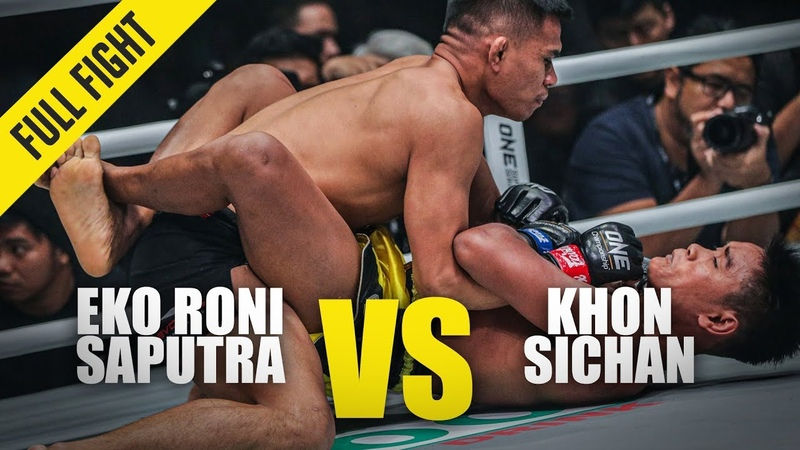 Eko Roni Saputra vs Khon Sichan ONE Full Fight February 2020