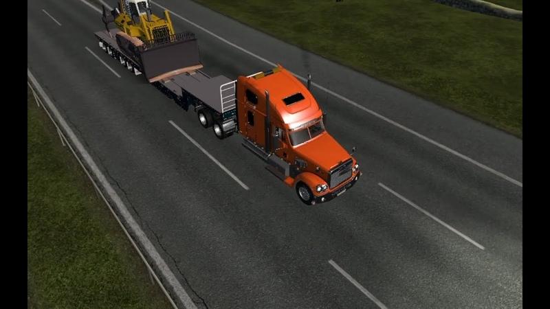 ETS 2 Freightliner Coronado недоОбзор
