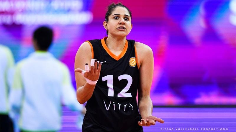 Natalia Pereira Zilio SUPER VOLLEYBALL SPIKES 2019 Women's Volleyball