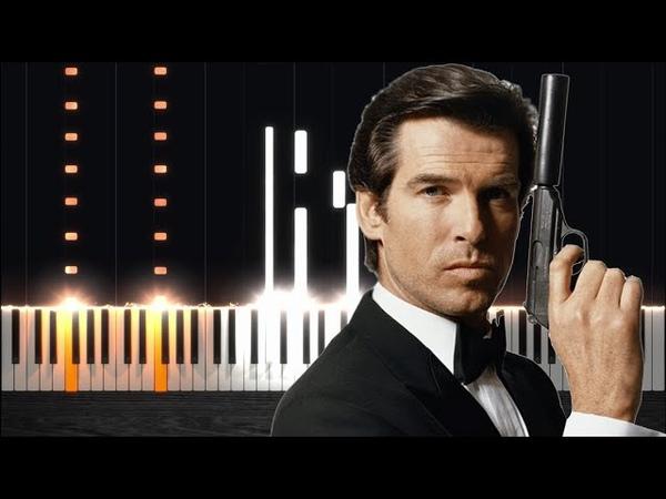 Main Theme - James Bond The World Is Not Enough [Piano Tutorial] Steffan Kaye