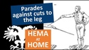 HEMA at Home - Parades against cuts to the Leg