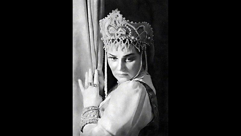 Ария Любаши из 2 действия оперы Царская невеста Римского-Корсакова.