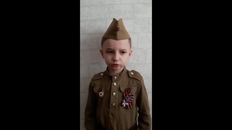 Волобуев Степа, 6 лет, тренер Дериглазов Е.