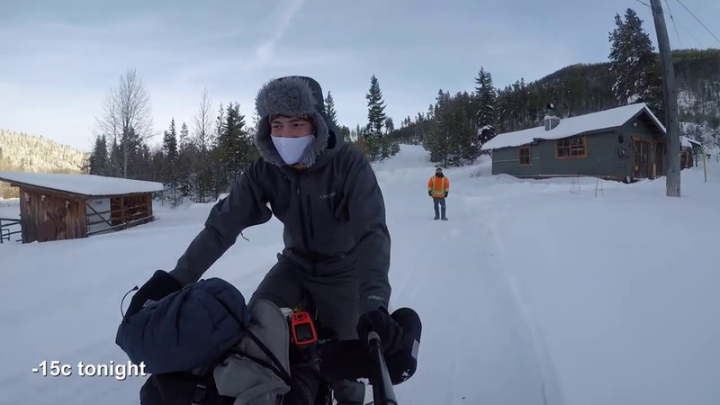Bikepacking The Kettle Valley Rail Trail in Winter December Update 7 7 of 2020