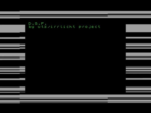 D.S.F. (beeper music) - utz Irrlicht Project [zx spectrum AY Music Demo]