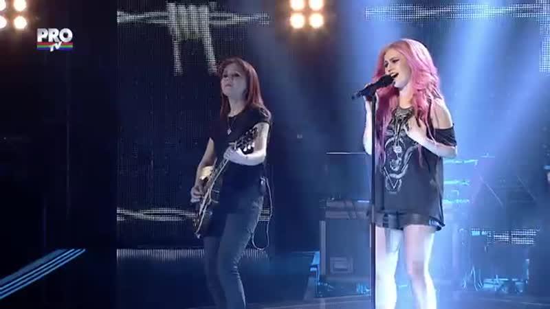Larisa Ciortan-Nothing else matters(Metallica)-Vocea Romaniei 2015-LIVE 1 - Ed. 11-Sezon5