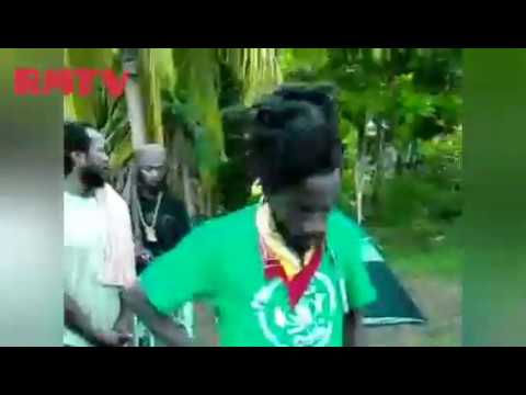 Conscious Reggae section Sizzla Drops knowledge reading psalms and jammin to nayabinghi