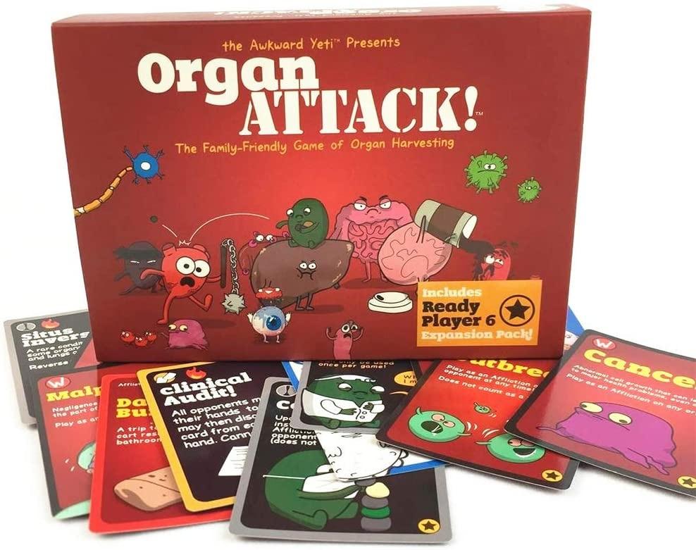 Чем развлечься на самоизоляции Злободневная настольная игра ORGAN ATTACK -