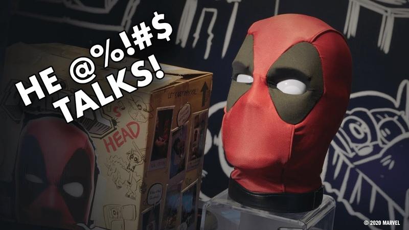 Deadpool's Head from Hasbro Really @% $ Talks