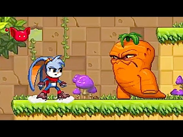 Kaze and the Wild Masks Fight Mutant Vegetables in this Love Letter to the 90s 2D Action Platformer