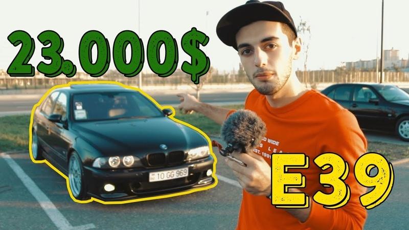 40.000 manat dəyərindəki BMW E39 ! *Gir içində yaşa*