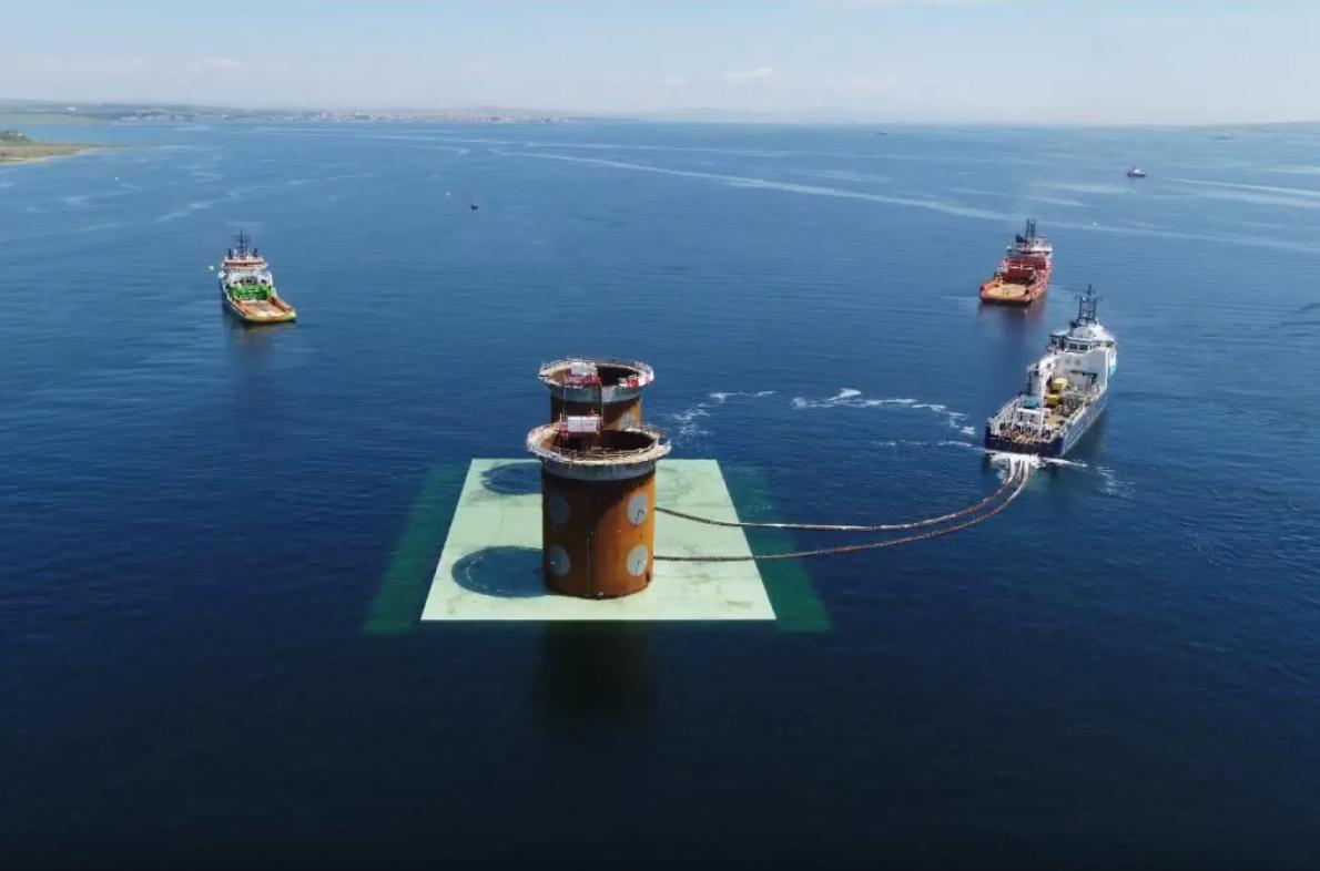 В Турции возводится подвесной мост с самым большим пролетом в мире