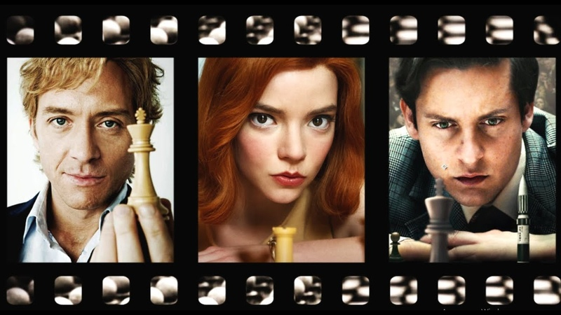 Top-45 Chess Films. IMDB rating. The Queens Gambit, Endgame, The Seventh Seal...